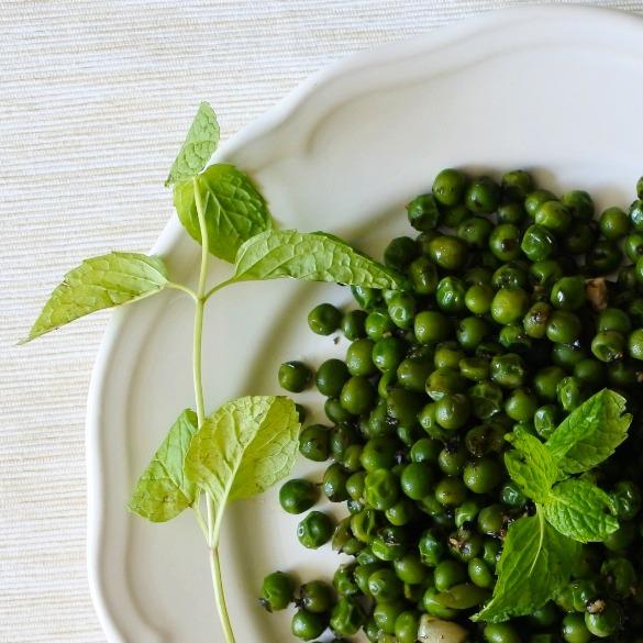 Minty peas (2)